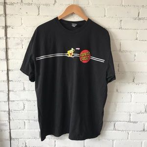 Santa Cruz Sponge Bob Shirt Sz XL